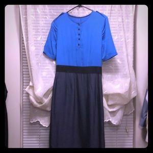 Burberry sample dress size 2